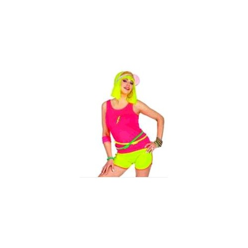 MAILLOT ROSE FLUO