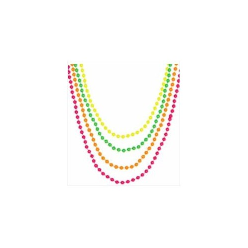 SET 4 COLLIERS PERLE NEON