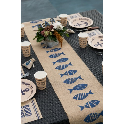 CH.TABLE BORD DE MER NATUREL