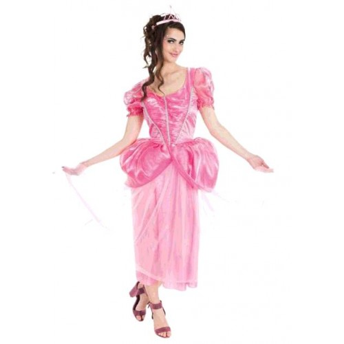 COSTUME PRINCESSE ROSE S