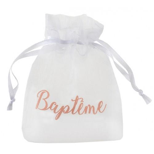 6 SACHETS BAPTÊME CORAIL