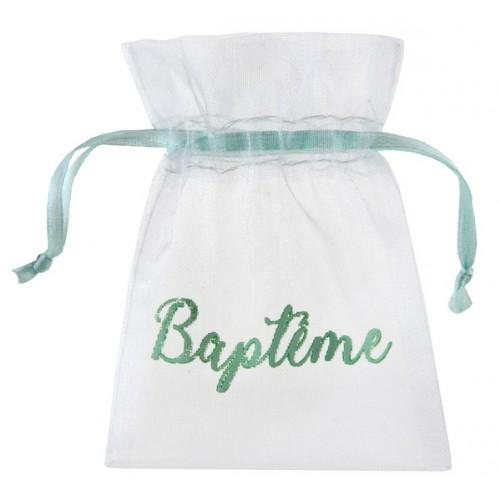 6 SACHETS BAPTÊME MINT