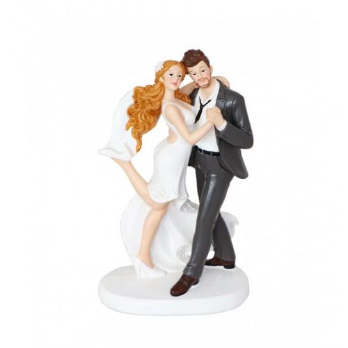 COUPLE MARIES RESINE DANSEURS