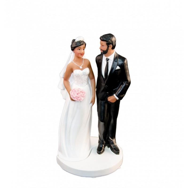 COUPLE MARIES RESINE BLACK 2