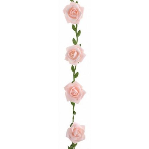 GUIRLANDE ROSES ROSE