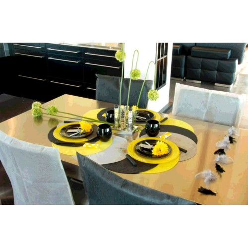 SET DE TABLE X10 TNT NOIR