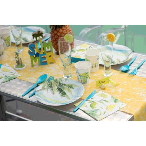 10 ASSIETTES SUMMER TIME