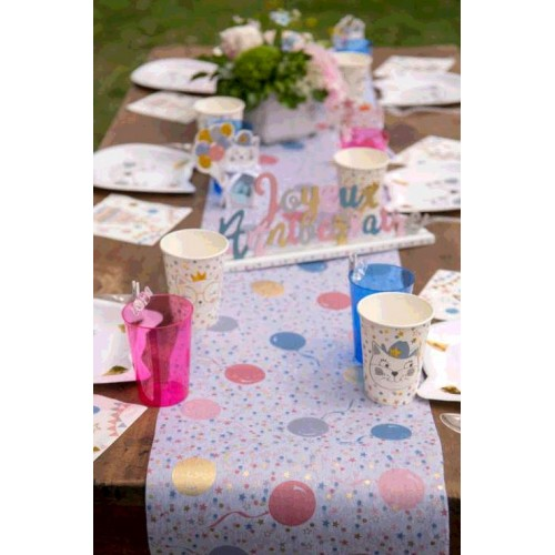 CH.TABLE KITTY PARTY MULTICOLO