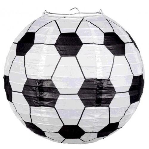 LANTERNE EN PAPIER FOOTBALL