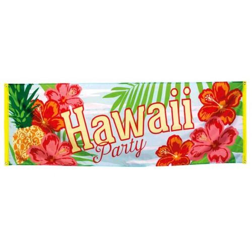 BANNIÈRE HAWAII PARTY