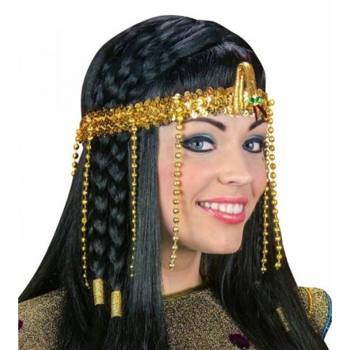 COIFFURE EGYPTIENNE PERLES