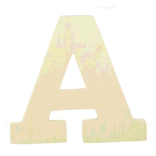 """LETTRE EN BOIS """"A"""" A DECORER"""