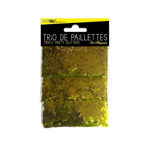 TRIO PAILLETTES OR NUANCE