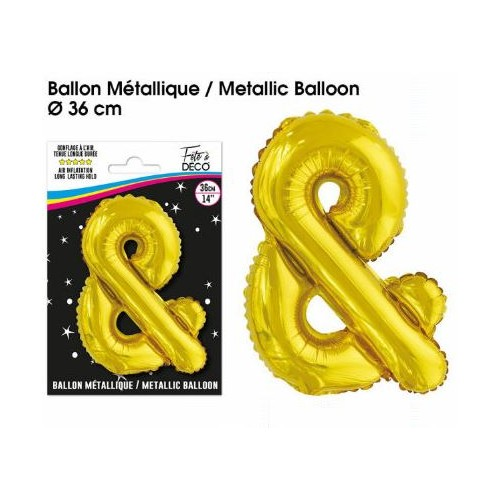 BALLON METALLIQUE OR &