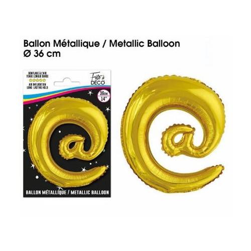 BALLON METALLIQUE OR @