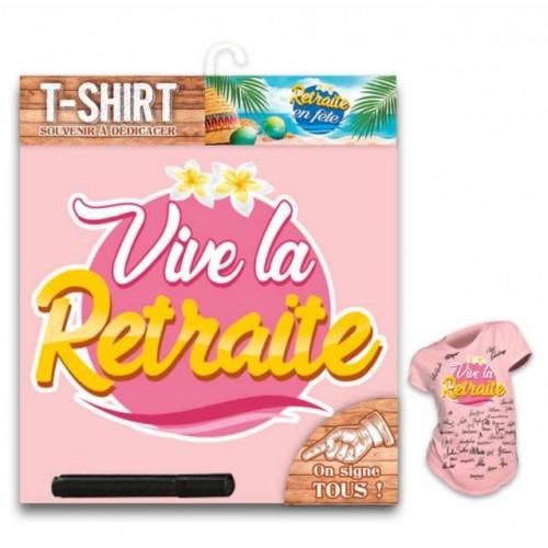 TEE SHIRT RETRAITE FEMME