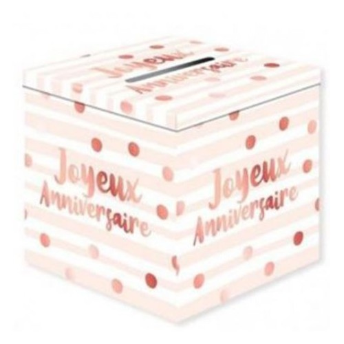 URNE ANNIVERSAIRE PARTY BLUSH
