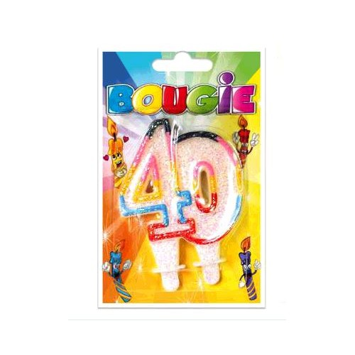 BOUGIE 40 ANS