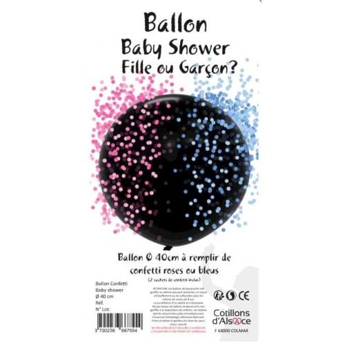 BALLON BABY SHOWER FILLE OU GARCON