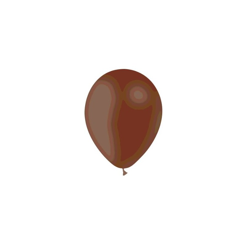 24 BALLONS CHOCOLAT DIAMETRE 28CM