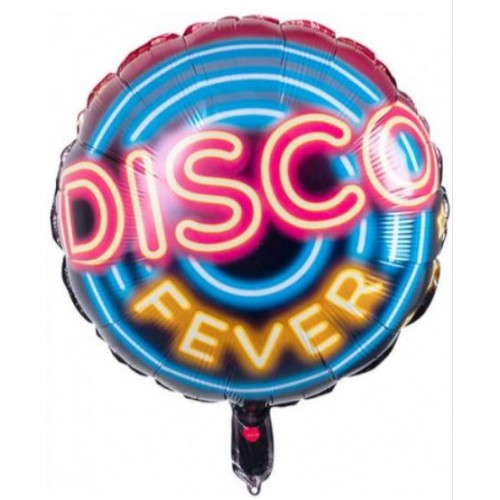 "BALLON ALU 'DISCO FEVER""45CM"""