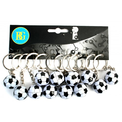 12 PC BALLON FOOT METAL