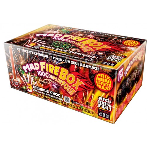 COMPACT 100% FEU MAD FIRE BOX 1MIN30