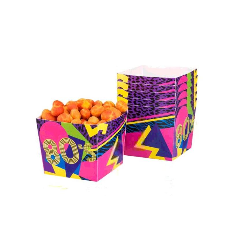 SET 6 BOLS '80'S'