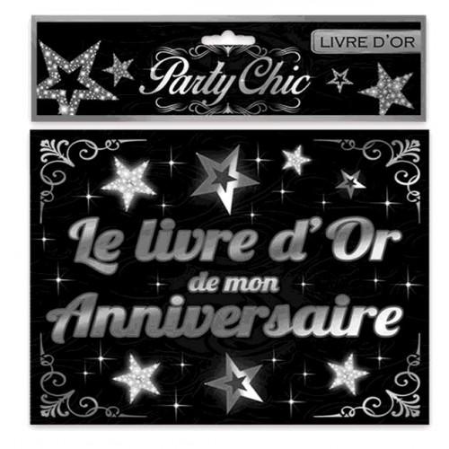 LIVRE D OR ANNIVERSAIRE PARTY CHIC