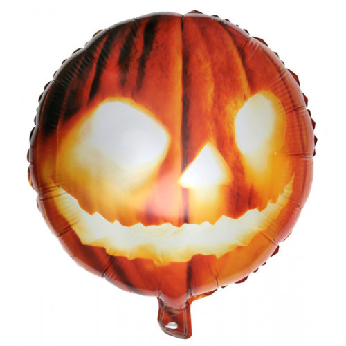 BALLON ALU HALLOWEEN ORANGE