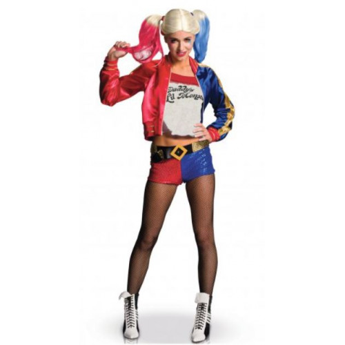DEGUISEMENT LUXE HARLEY QUINN TAILLE S