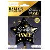 BALLON METAL ETOILE BONNE ANNE