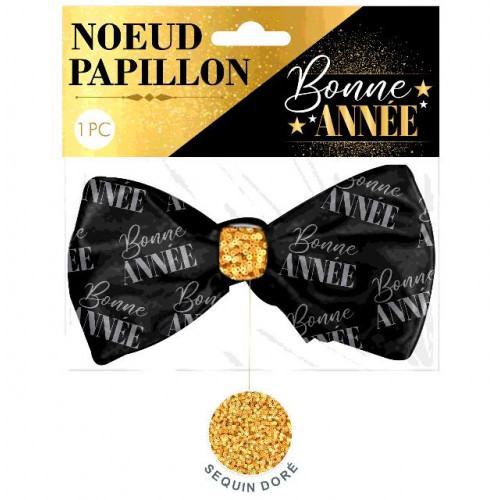 NOEUD PAPILLON BONNE ANNEE