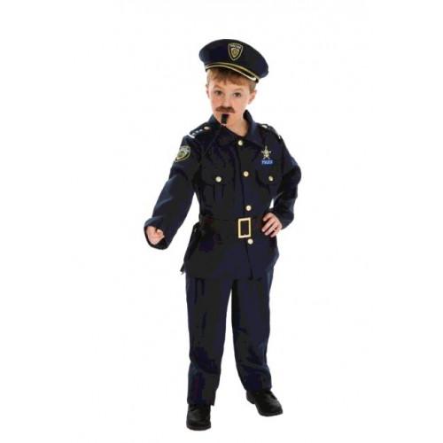 COSTUME POLICIER 128CM