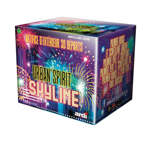 COMPACT GAME URBAN SPIRIT SKYLINE