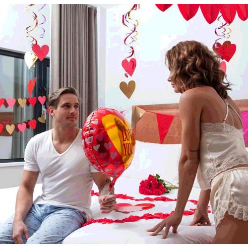 SET 3 DÉCO TOURBILLONS LOVE