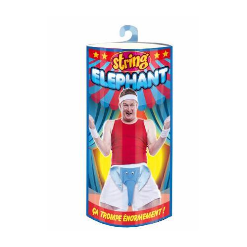 SLIP HUMORISTIQUE ELEPHANT
