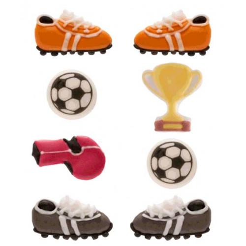 BLISTER DECO EN  SUCRE FOOTBALL