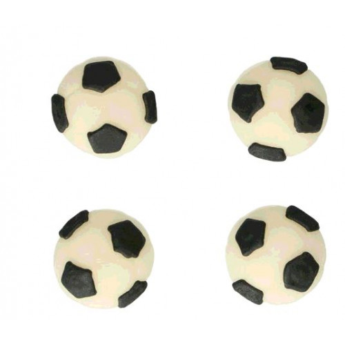 DECO FOOTBALL PÂTE A SUCRE X8