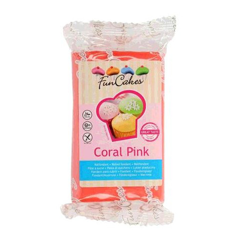 PATE A SUCRE CORAL PINK 250GR