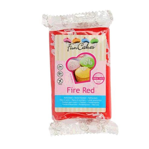 PATE A SUCRE FIRE RED 250GR
