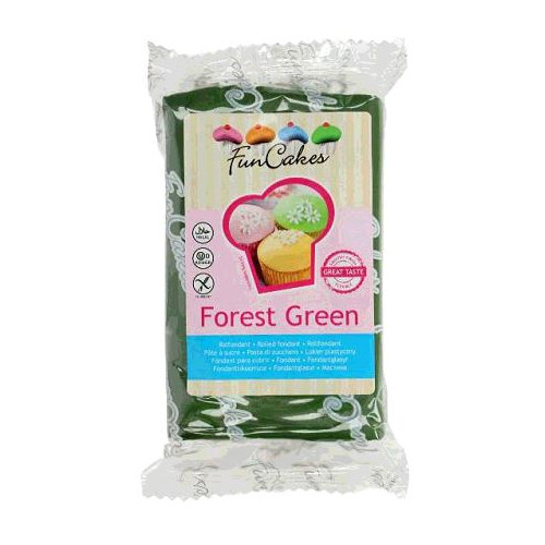 PATE A SUCRE FOREST GREEN 250G