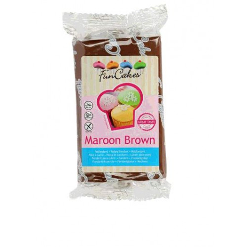 PATE A SUCRE MAROON BROWN 250GR