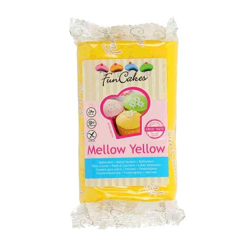 PATE A SUCRE MELLOW YELLOW 250 GR