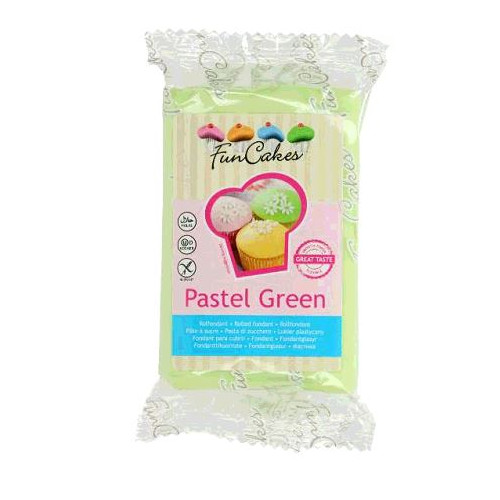 PATE A SUCRE PASTEL GREEN 250GR