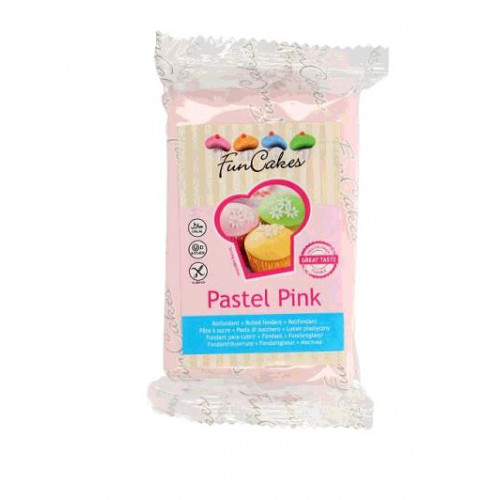 PATE A SUCRE PASTEL PINK 250GR