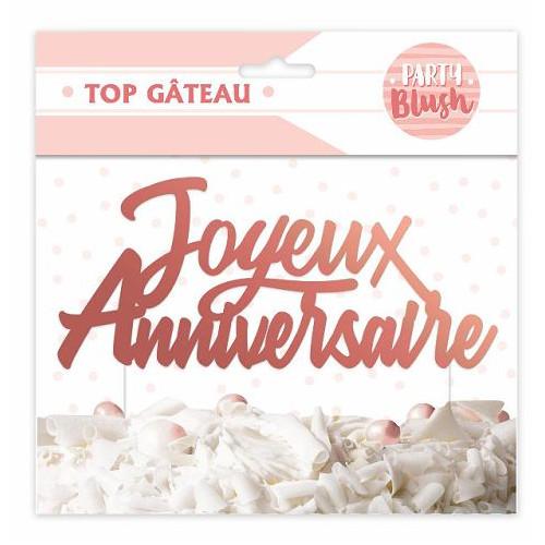 TOP GATEAU PARTY BLUSH