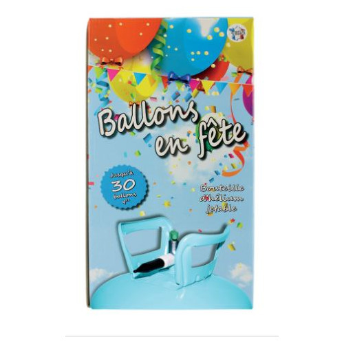 BOUTEILLE HELIUM JETABLE 30 BALLONS