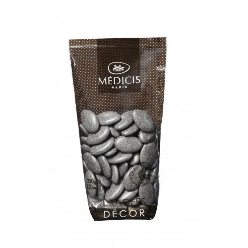 250GR DRAGEE CHOCOLAT GRIS