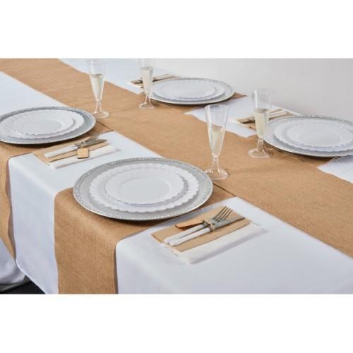 CHEMIN DE TABLE JUTE